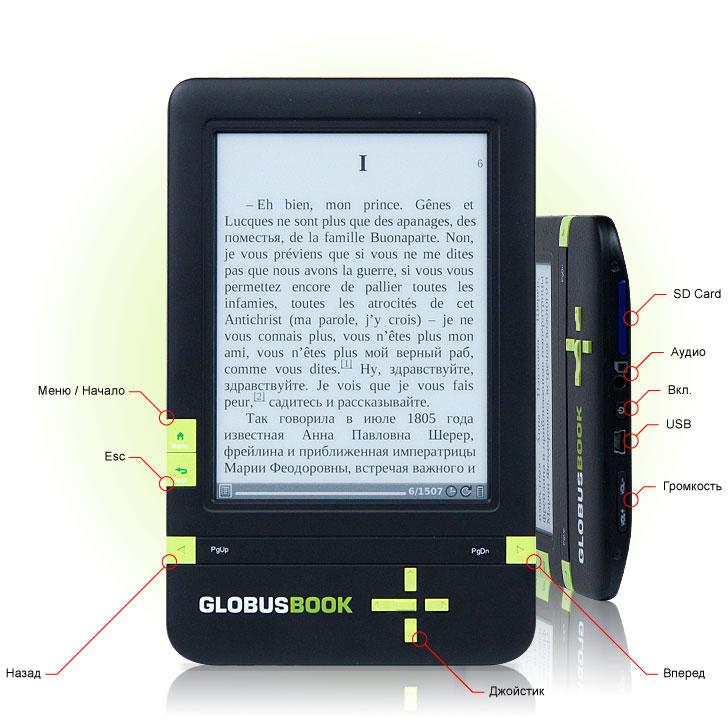 GlobusBook 1001