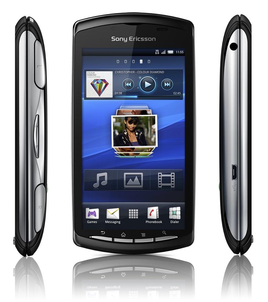 Смартфон Sony Ericsson Xperia Play в закрытом состоянии