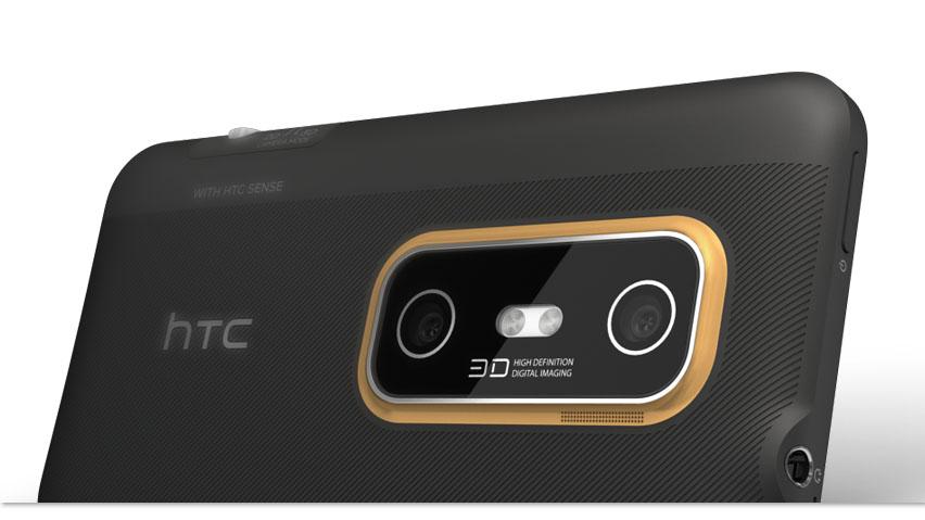 Задняя камера HTC EVO 3D