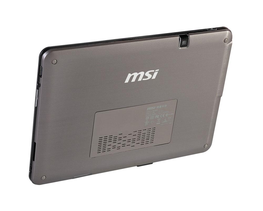 Планшет MSI WindPad 110W: вид задней панели