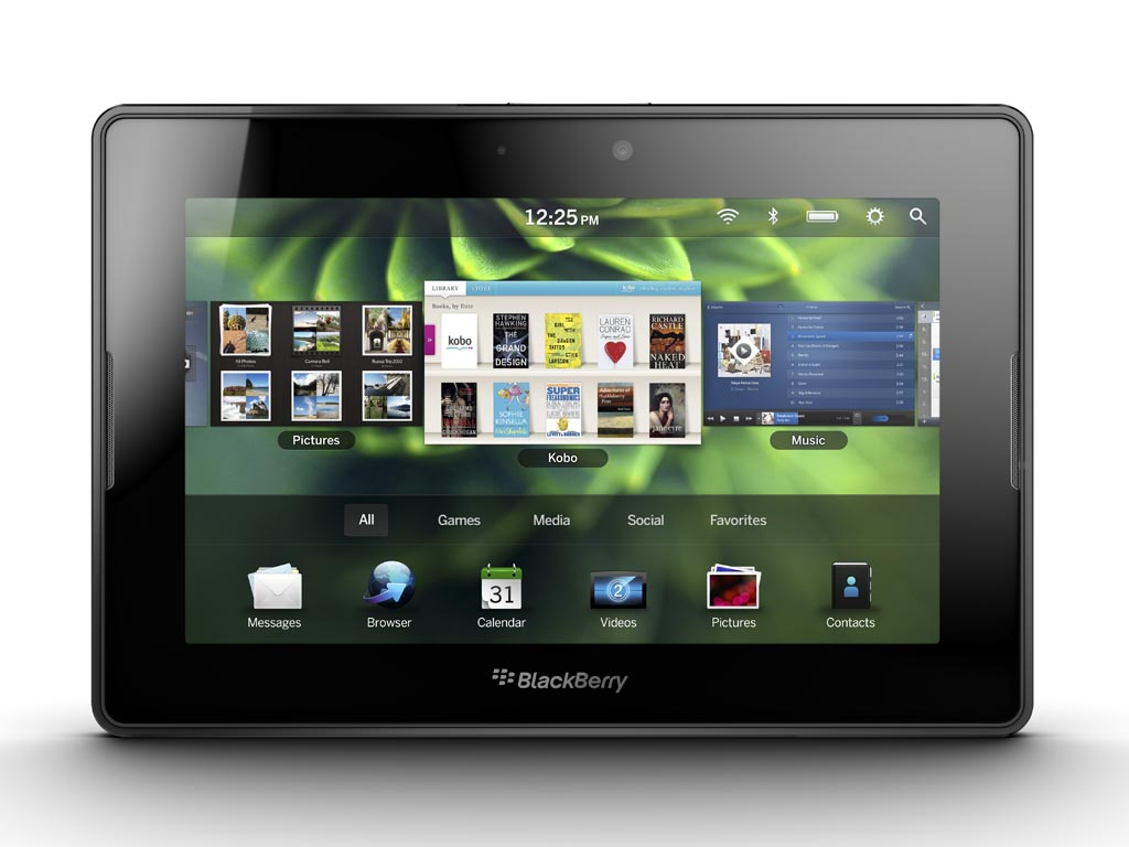 Планшет RIM BlackBerry PlayBook (интерфейс)